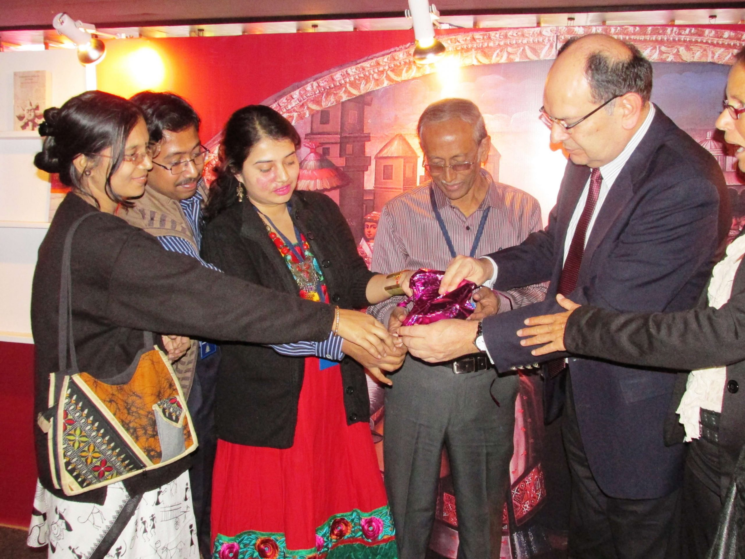 In a Book Inauguration ceremony